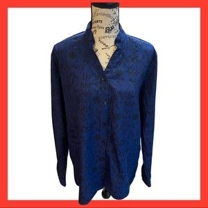 Whits Stag blue Blouse L(12-14)